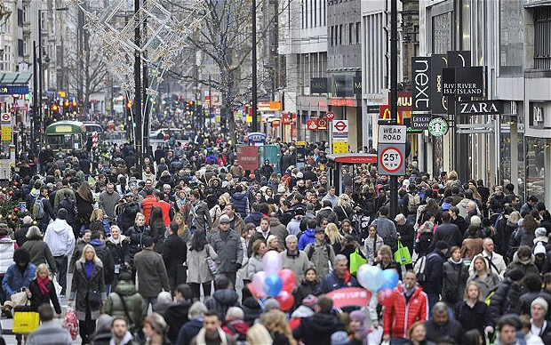 London's population is now 8.4 million and is set to rise even ...