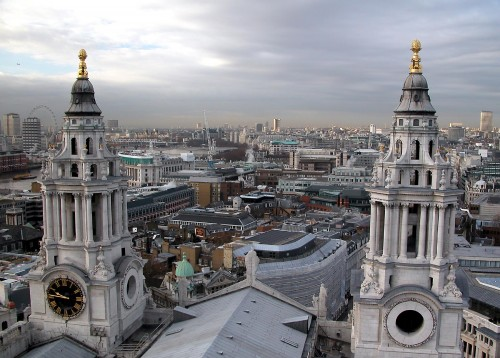 See London from above