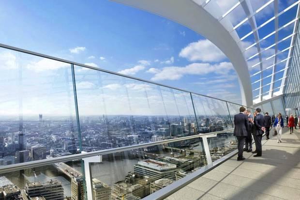 Sky Garden Walk: 3 London Viewing Platforms Of The Future.