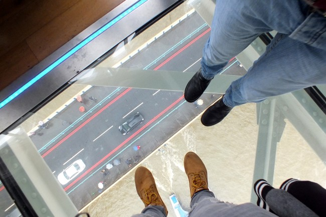 Tower Bridge Exhibition 2015 Glass Walkway
