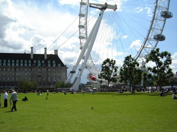 London eye, 1 day in London