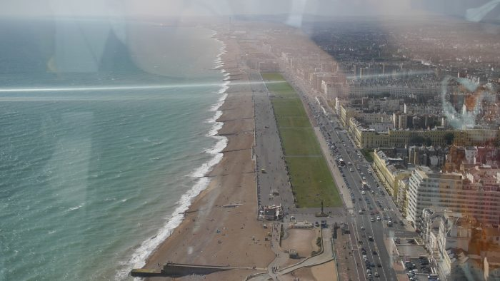 View from Brighton i360
