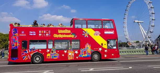 London Hop On Hop Off Bus Tour Price