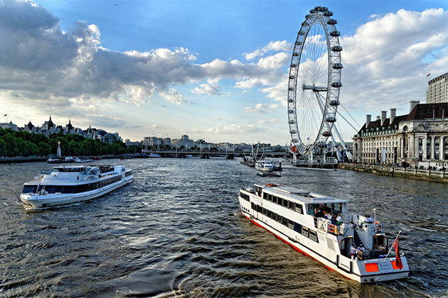 River Thames Cruise And 3 Course Meal For Two Discount