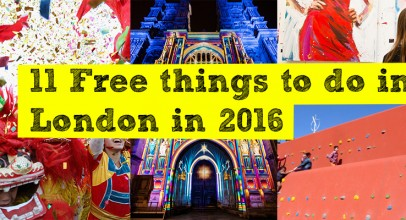 11 free things to do in London in 2016