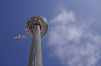 Brighton i360 Review – The Tallest Moving Tower in the World!