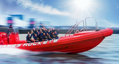 Thames Speed Boat Ride for Two | Rocket Speed Boat Voyage