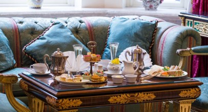 Champagne Afternoon Tea for Two at 5* Bently Hotel