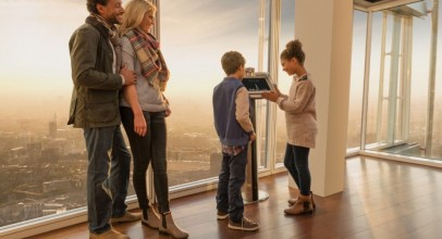 Children's tickets are free at The Shard this half term!