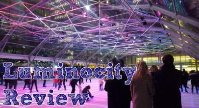 Luminocity Review – The Canary Wharf Ice Rink with a Thousand LED Light Show