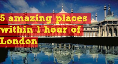 5 amazing places within 1 hour of London