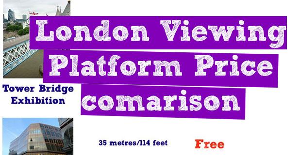 London Price Comparison