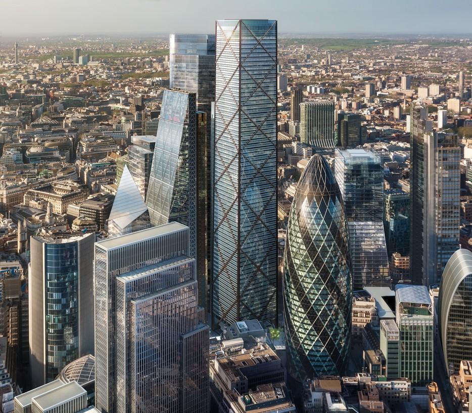 undershaft skyscraper london