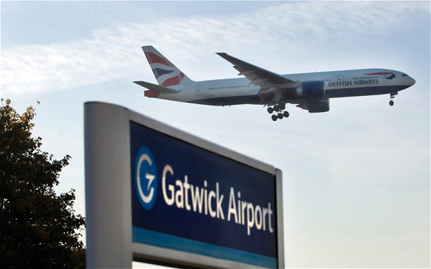 How to get from London to gatwick