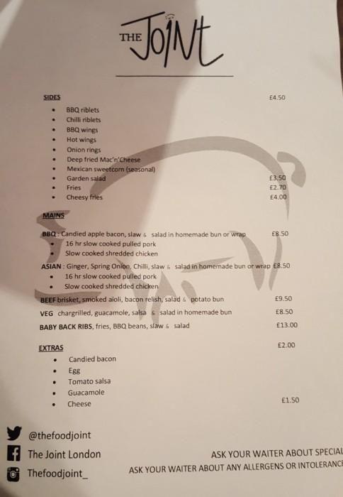 refreshment room stratford menu