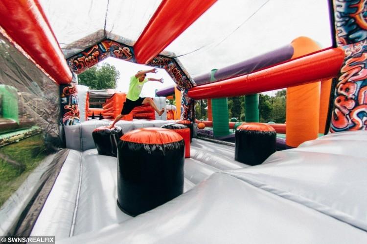 the beast bouncy castle london
